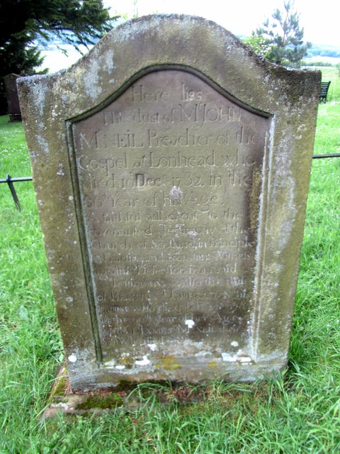 Beatrix Umpherston and the Children's Covenant – Old Pentland Cemetery, Loanhead – SFH019