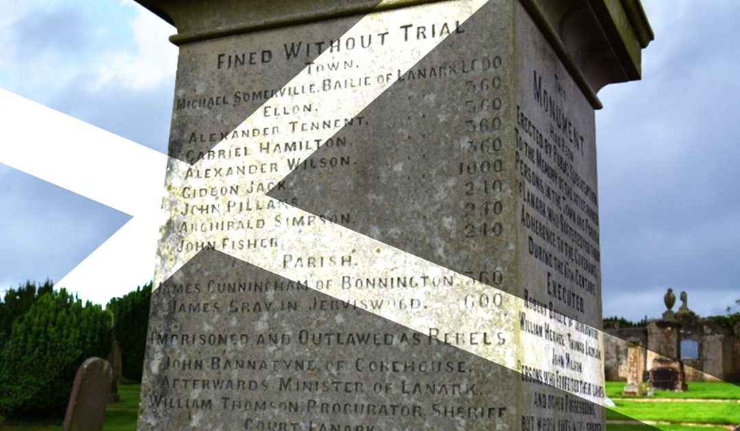Lanark Covenanter Memorial