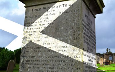 Lanark Covenanter Memorial – SFH022