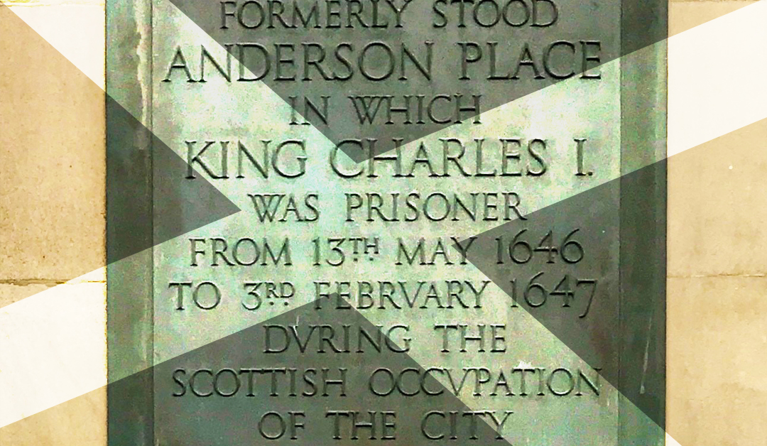 Alexander Henderson and King Charles I – Newcastle – SFH035