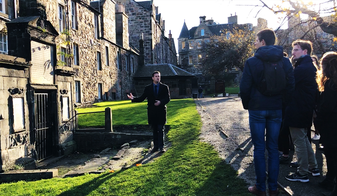 John Law on the Bass Rock – Greyfriars Kirkyard, Edinburgh – SFH045
