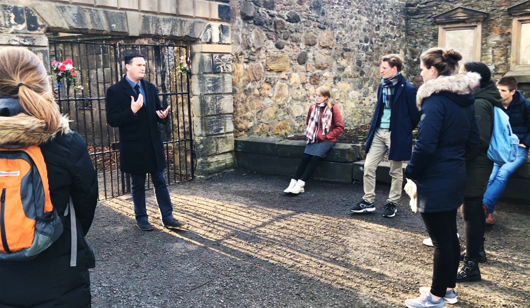 The Covenanters' Prison, Greyfriars Kirkyard, Edinburgh – SFH046