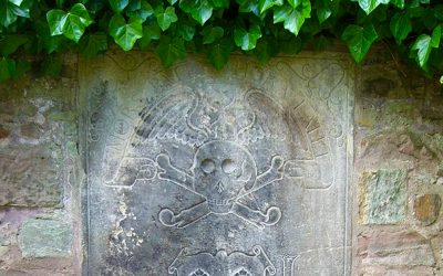 Chamberlain Road, Edinburgh – The Apothecary & The Plague – John Livingstone's Tombstone – SFH050