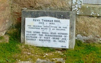 Rev Thomas Hogg of Kiltearn – Evanton, nr Dingwall – SFH051