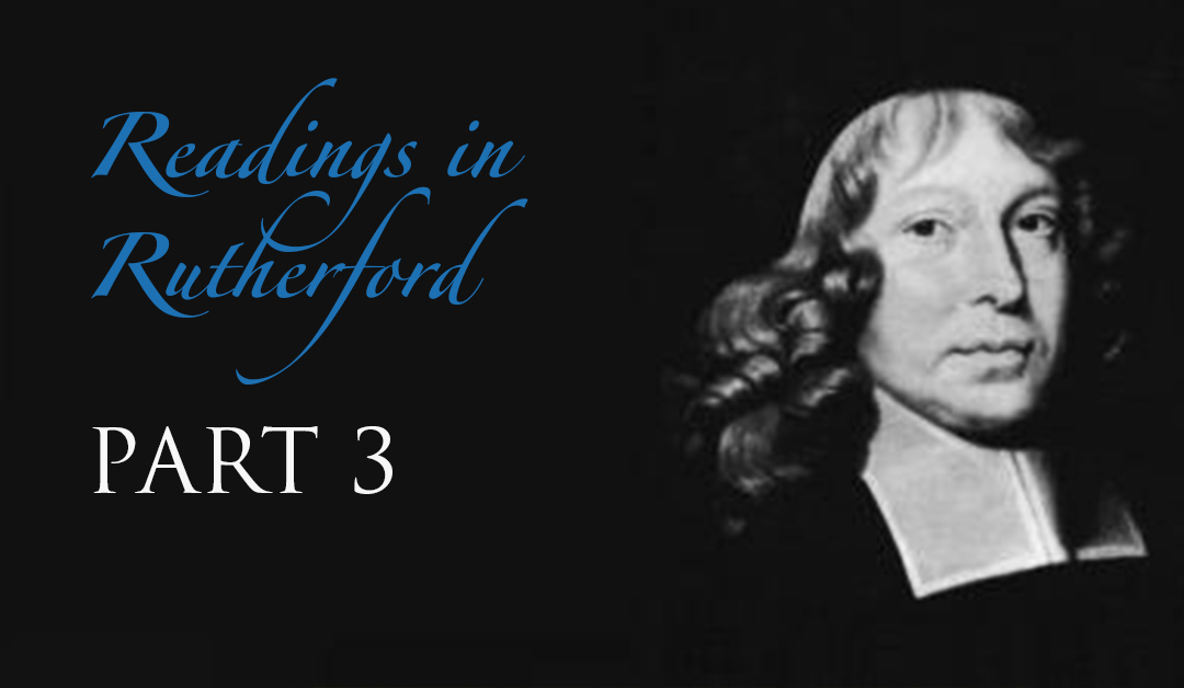Readings in Rutherford: Part 3